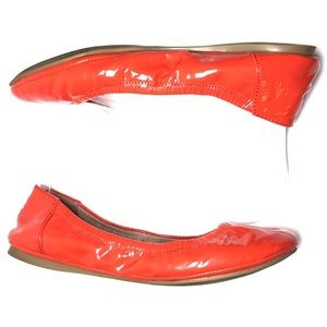 Vince Camuto Ellen Red Leather flats